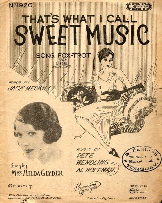 7767 | Sweet Music - Song featuring Miss Hilda Glyder