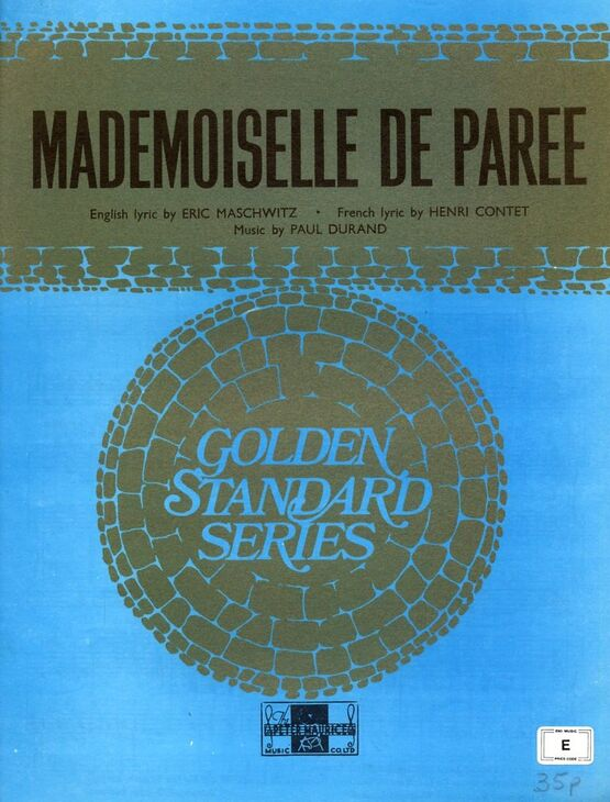 7770 | Mademoiselle De Paree - From the Production