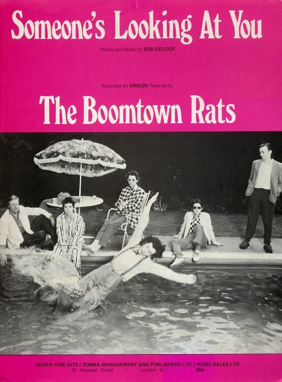 7849 | Somone's Looking At You - The Boomtown Rats