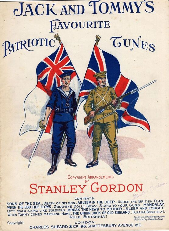 7856 | Jack and Tommy's Favourite Patriotic Tunes