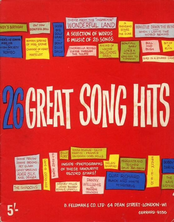 7871 | 26 Great Song Hits -