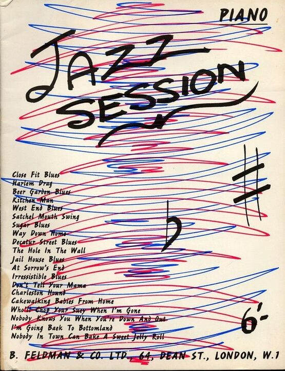 7871 | Jazz Session - For Piano with lyrics