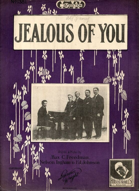 7885 | Jealous of You - Song - Featuring The Horatio Nicholls Five
