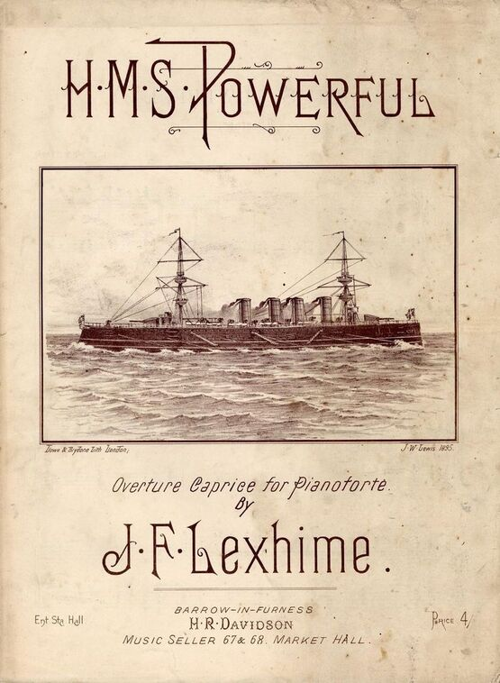 7899 | H. M. S. Powerful - Overture Caprice for Pianoforte