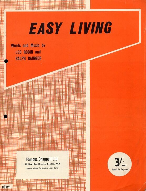 7910 | Easy Living - Song