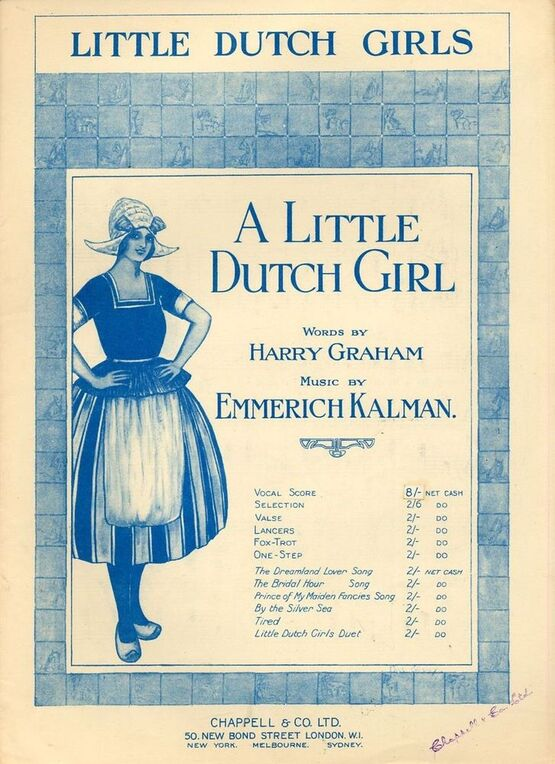 7979 | A Little Dutch Girl - From