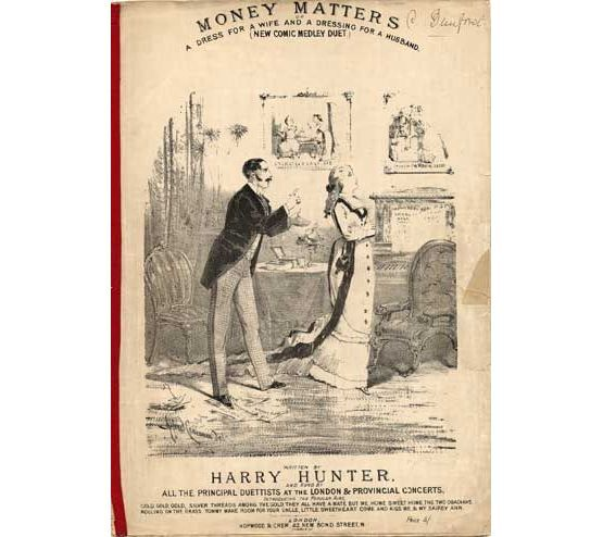 7993 | Money Matters or A dress for a wife and a dressing for a husband - Comic Medley Duet,