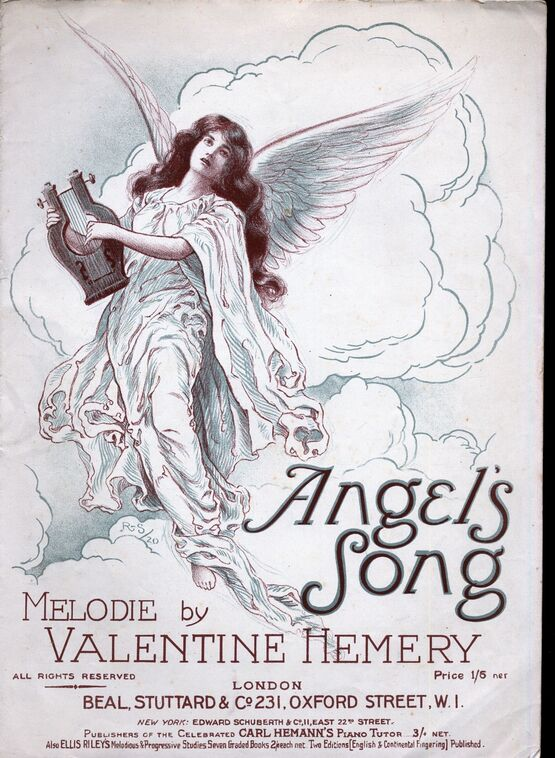 8026 | Angel's Song - Melodie for Piano