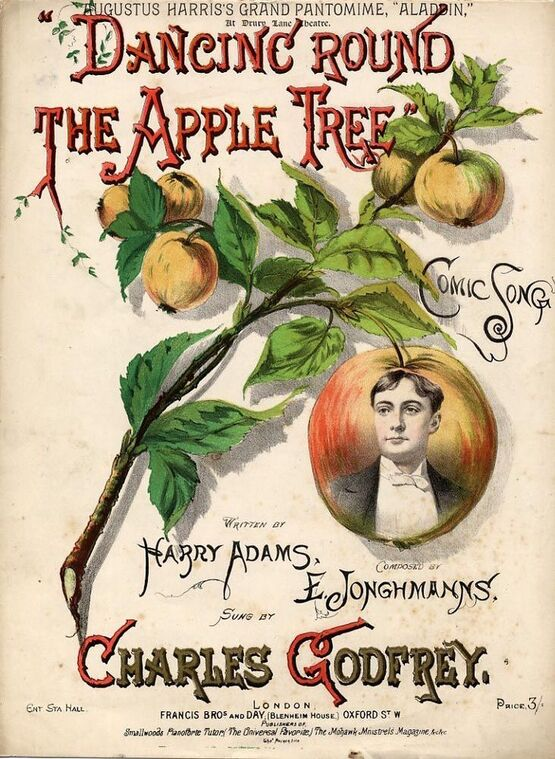 8028 | Dancing Round the Apple Tree - Comic Song as Sung by Charles Godfrey