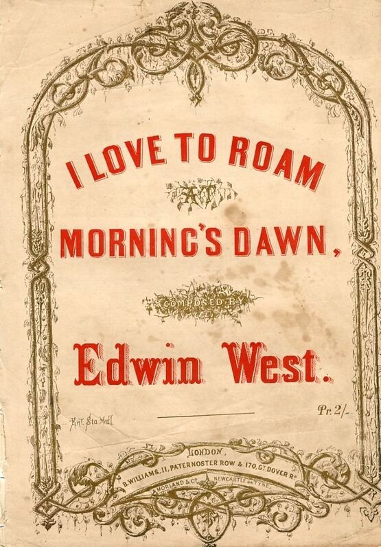 8091 | I love to roam at Morning's Dawn - Song