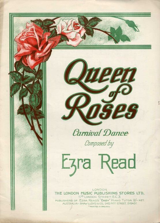 8170 | Queen of Roses - Carnival Dance for Piano