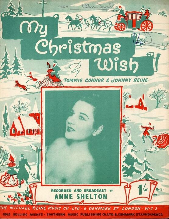 8244 | My Christmas Wish -  Song - Featuring Anne Shelton