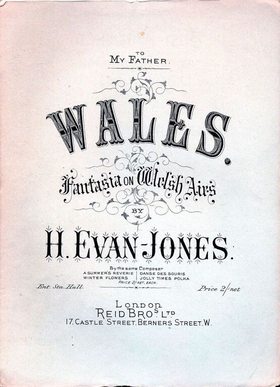 8336 | Wales - Fantasia on Welsh Airs