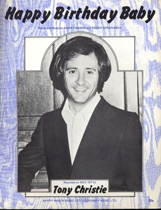 8448 | Happy Birthday Baby  - Featuring Tony Christie