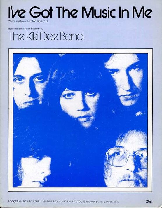 8461 | I've got the Music in me - Song Featuring The Kiki Dee Band