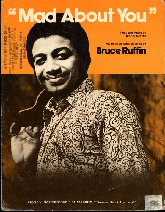 8488 | Mad About You - featuring Bruce Ruffin
