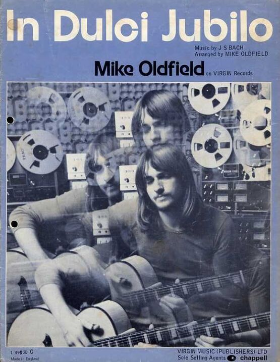 8517 | Bach - In Dulci Jubilo - For Piano - Featuring Mike Oldfield