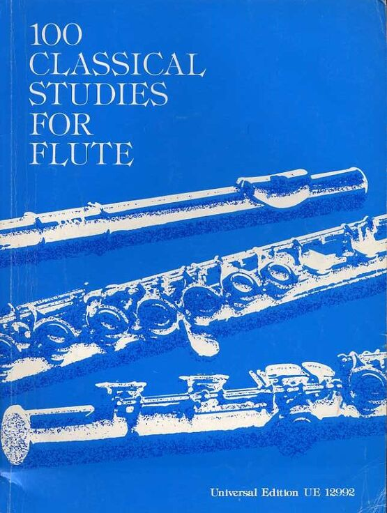 8949 | 100 Classical Studies for Flute - Volume 1 - Universal Edition No. 12992