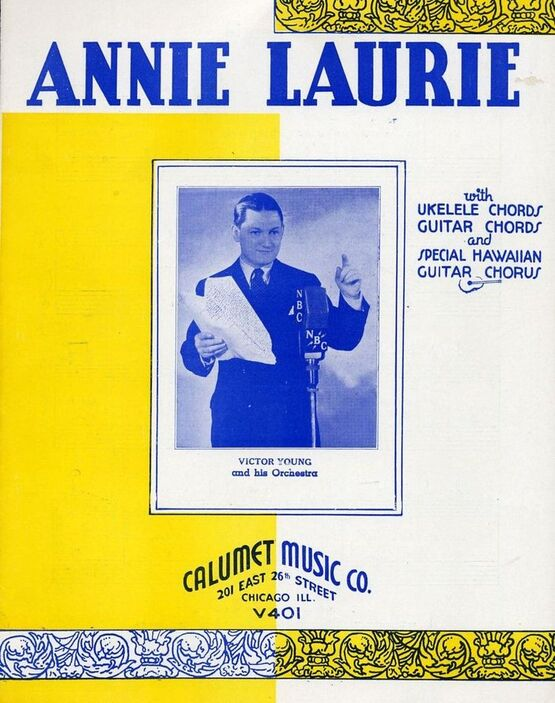 Annie Laurie Hawaiian Guitar Solo With Ukulele And Guitar Chord