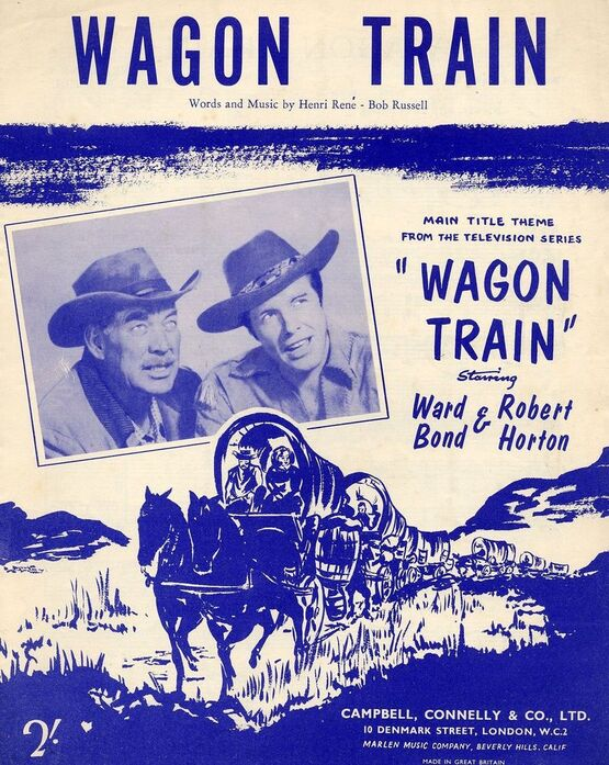 9178 | Wagon Train - Main Title Theme from the Television Series