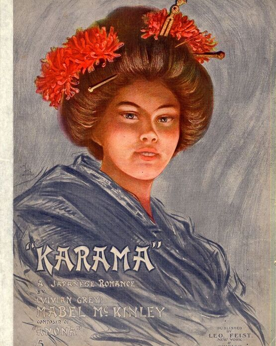 9736 | Karama - A Japanese Romance - For Piano and Voice
