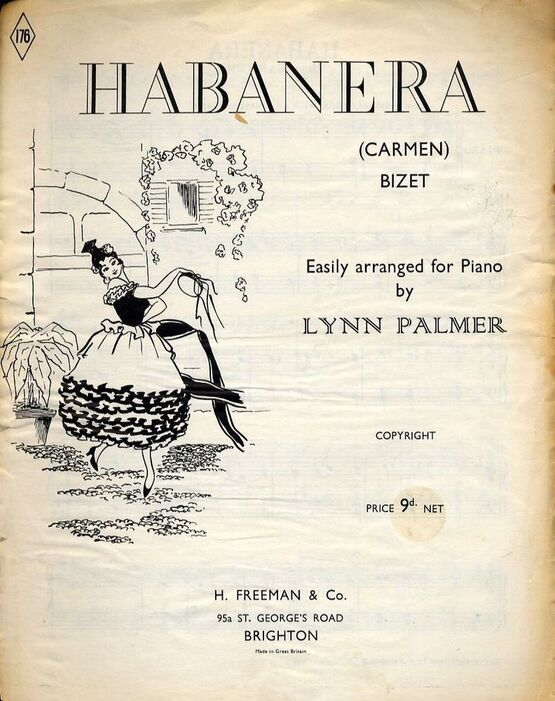 9740 | Habanera - From Carmen - Piano arrangement