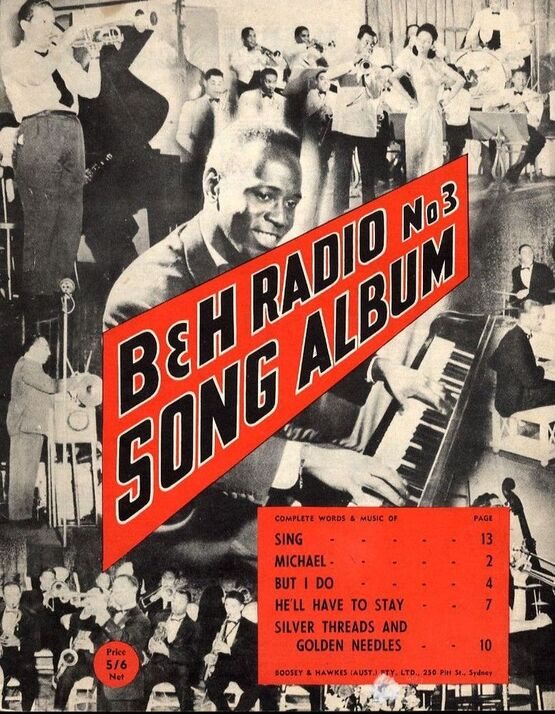 9949 | B & H Radio Song Album - No. 3 - For Piano and Voice