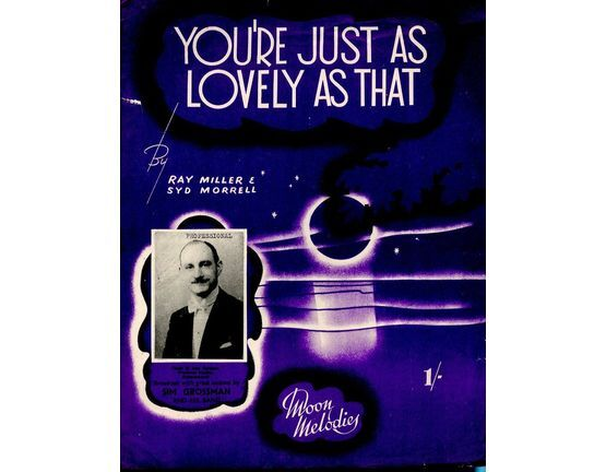 10109 | You\'re Just As Lovely As That - Song featuring Sim Grossman