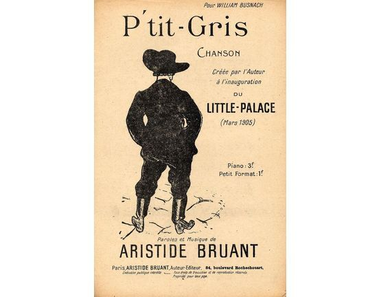 10183 | P\' tit-Gris - Chanson - French Edition