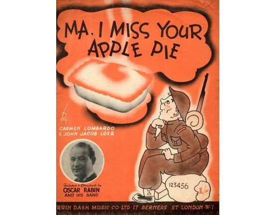 104 | Ma I Miss Your Apple Pie - Geraldo, Oscar Rabin