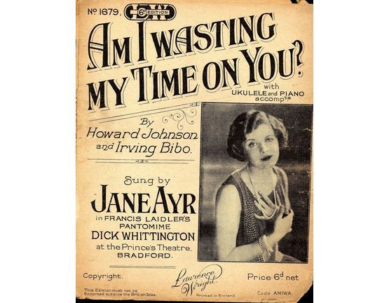 11 | Am I Wasting My Time on you? featuring Jane Ayr