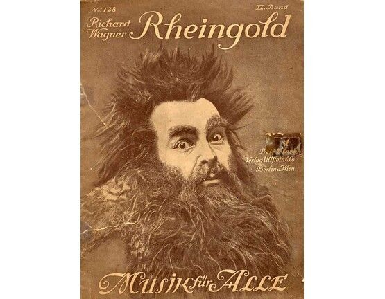 11596 | Wagner - Das Rheingold (Musik fur Alle) - For Voice and Piano - From Der Ring des Nibelungen