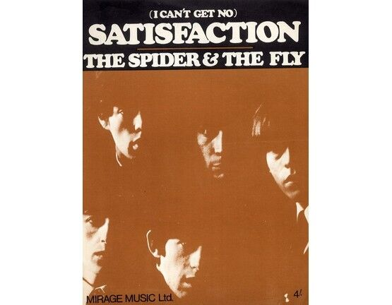 11601 | (I can\'t get no) Satisfaction - The Spider and the Fly - The Rolling Stones (b/w photo)
