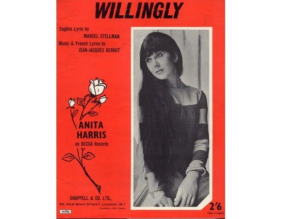 18 | Willingly, recorded by Anita Harris