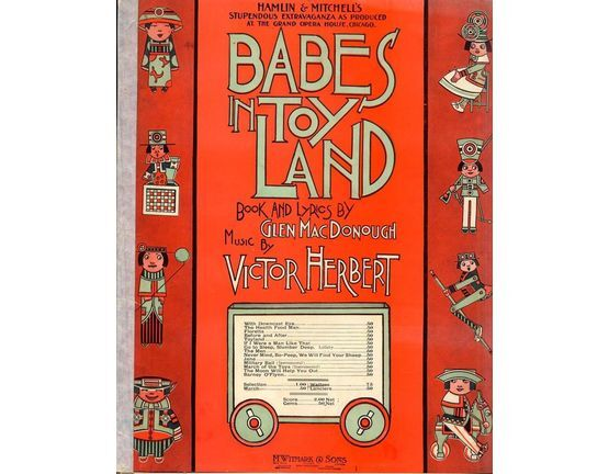 19 | Babes in Toyland - Waltzes from Hamlin and Mitchell\'s stupendous extravaganza as produced at the Grand Opera House, Chicago