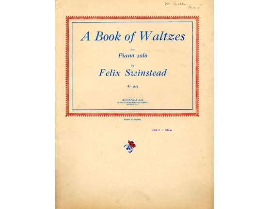 2767 | A Book of Waltzes for Piano Solo