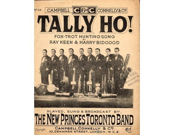 29 | Tally Ho! - Fox Trot Hunting Song Featuring The New Princes Toronto Band