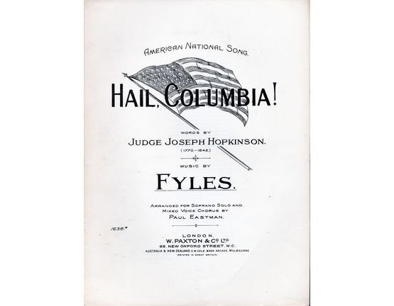 3108 | Hail, Columbia!, American national song