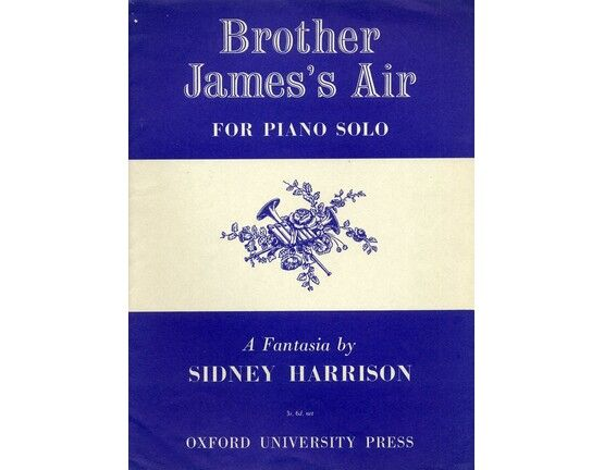 3362 | Brother James\'s Air - A Fantasia - Piano solo