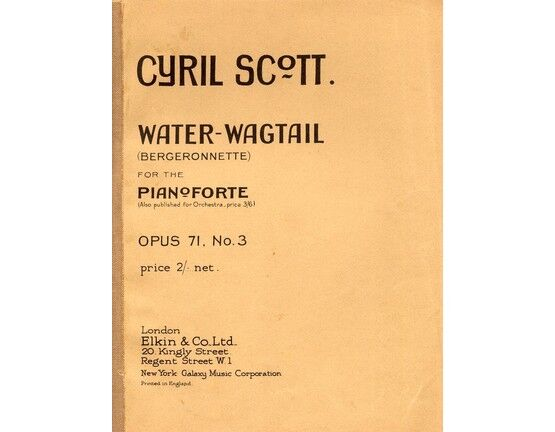 4 | C Scott. Op.71. No.3