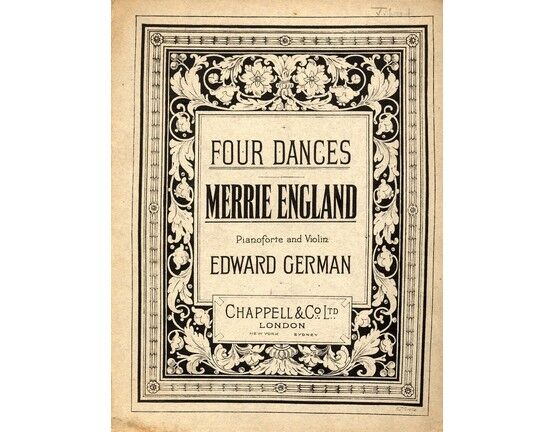 4 | Four Dances Merrie England -  Violin and Piano