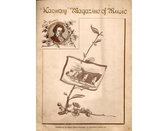 4 | Harmony Magazine of Music. Xmas Number containing: Three Little Fairies, Furiant, Mays Love, Silverdale Valses, Snow Flakes, Ballade