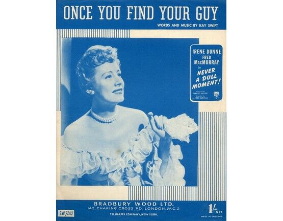 4 | Once You Find Your Guy. Irene Dunne