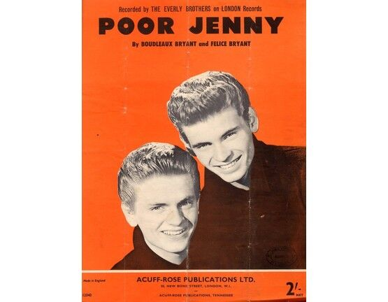 4 | Poor Jenny: The Everly Brothers