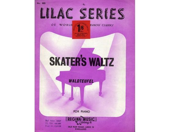 4 | Skaters Waltz - Lilac series - Arranged by Sid Pickles