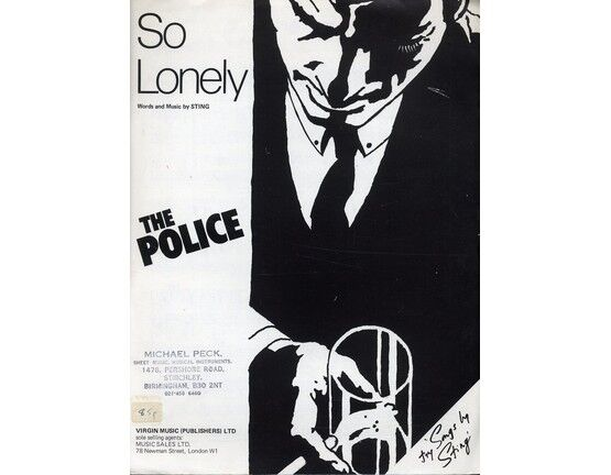 4 | So Lonely. Sting and The Police.