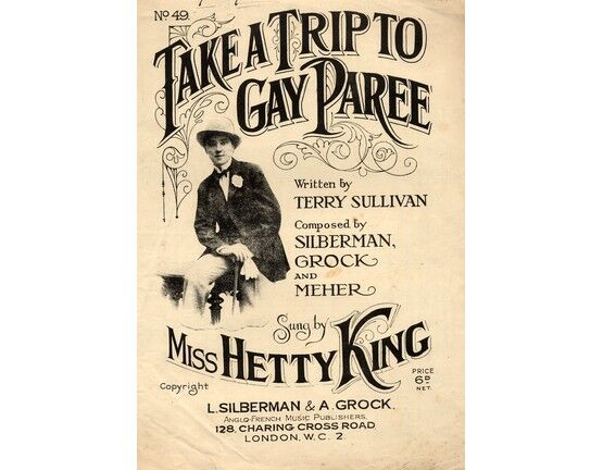 4 | Take a Trip to Gay Paree - Sung by Miss Hetty King