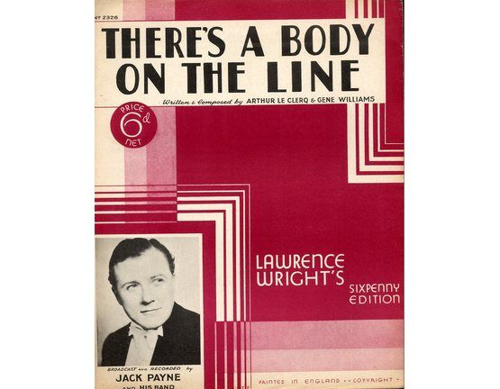4 | Theres a Body on the Line: Jack Payne