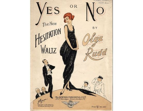 4476 | Yes or No - The New Hesitation Waltz - For Piano and Voice