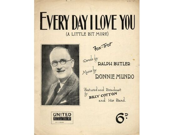 4505 | Every day i love you (A little bit more) - Fox Trot Featuring Billy Cotton